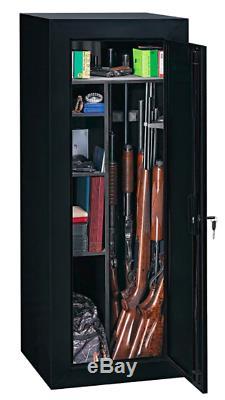 Gun Safe Cabinet 18 Storage Locker Rifle Shelf Rack Firearm Shotgun Anti Scratch