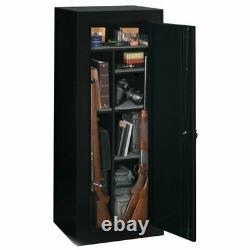 Gun Safe Firearm Locking Storage Cabinet 18 Convertible Rifle Weapon Pistol Rack