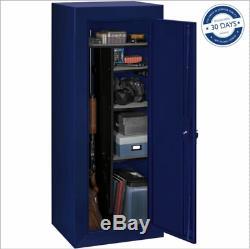 Gun Safe Locking Cabinet 18 Rifles Storage Locker Shelf Rack Firearm Pistol NEW