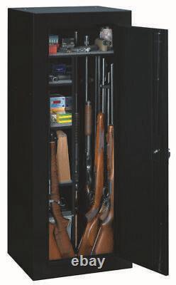 Gun Safe Security Storage Lock Cabinet Firearm Rifle Box Shotgun Pistol Holds 18