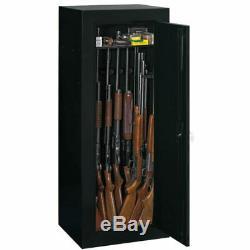 Gun Safe Sentinel Fully Convertible Cabinet Shooting Storage Organizer 18 Gun