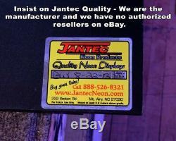 Gun Shop Neon Sign Jantec 16 x 32 Pawn Shop Rifle Store Ammo Pistol Gun
