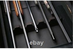 Gun Storage Concealment Bench Cabinet Safe Ottoman Firearm Rifle Chest Furniture