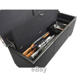 Gun Storage Concealment Safe Bench Firearm Handgun Rifle Brown Camo Safety New