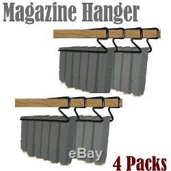 Gun Storage Solutions Universal Handgun Pistol Magazine Hanger Holder 4 Packs/H7