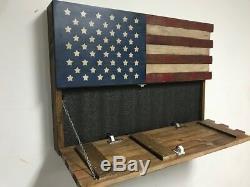 Harley Davidson Gun Concealment Cabinet- Hidden Storage Compartment