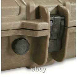 Heavy Duty Tactical Hard Rifle Case Wheeled Custom Padding Lockable Gun Storage