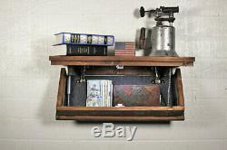 Hidden Compartment Tactical Gun Concealment Shelf 23 x 9.25 Hidden Gun Storage