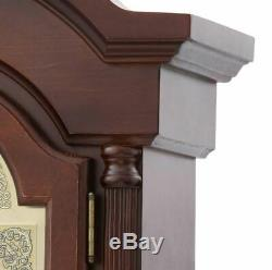 Hidden Firearm Storage Cabinet Lockable Grandfather Clock Rifle Safe Gun Rack