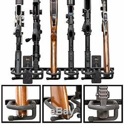 Hold Up Displays Gun Rack and Rifle Storage Holds 6 Winchester Remington Ruge