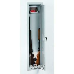 In-Wall Gun Storage Safe Cabinet Container Vault Security Full Length Steel NEW