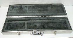 Metal Aluminum Take Down Takedown Rifle Shotgun Double Storage Hard Case 2 Gun