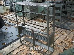 Military Surplus Rack Storage Small Arms Rifle Lockable Gun Army Gunshow