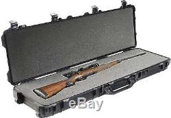 NEW Pelican 1750 Rifle Case with Foam & Wheels (Desert Tan) Watertight Dustproof