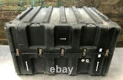 Pelican Hardigg US Military Weapons Shipping Storage 8 Rifle Gun Hard Case Rack