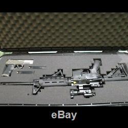 Plano Arms Gun Case Hard Shell Rifle Scope Storage Safe Box Waterproof Tactical