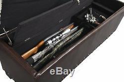 Rifle Storage Cabinet Hidden Gun Concealment Furniture Hidden Guns Bench Firearm