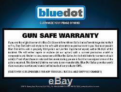 Second Amendment Gun Safe Storage for ShotGun Rifle Ammo with Comb. Lock 59x28x20