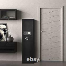Security 5 Gun Rifle Electronic Lock Key Storage Safe Box Large Firearms Cabinet