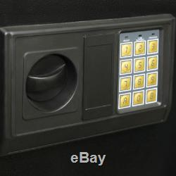 Security 5 Gun Rifle Shotgun Pistol Electronic Lock Storage Safe Cabinet Firearm