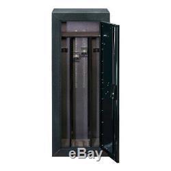 Security Cabinet Products 16-Gun Tactical Adjustable Barrel Rests Storage Home