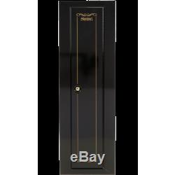 Security Gun Cabinet Storage Safe 10 Gun Rifle Locker Firearm Key Coded Shotgun