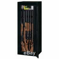 Security Stack on 14 Gun Cabinet Safe Rifle Shotgun Firearms Storage Locker NEW