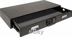 SnapSafe Under Bed Gun Storage Security 75400 Heavy Duty Steel Matte Black New