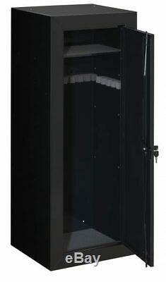 Stack-On 22-Gun Security Cabinet with Bonus Portable Case Safe Locking Storage