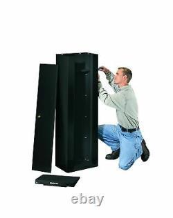 Stack On GCB 8RTA Steel 8 Gun Security Cabinet Shelf Storage Black Organizer New