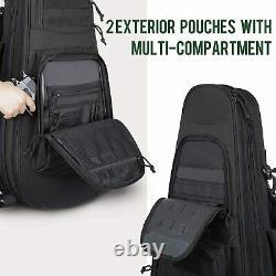 Tactical Rifle Bag Backpack Gun Range Shooting Hunting Firearm Carrying Storage