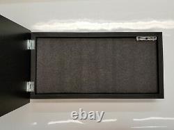 Tattered American Flag Concealment Cabinet Secret Hidden Storage Box Gun conceal