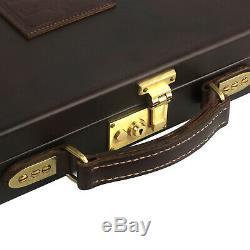 Tourbon Leather Shotgun Hard Carry Case Single Gun Storage Box Special Offer