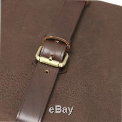 Tourbon Shotgun Hard Case Gun Box Safe Storage Cabinet Canvas & Leather Hunting