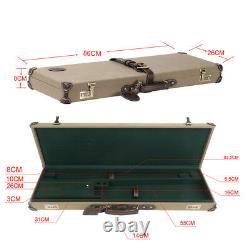 Tourbon Vintage Shotgun Box Case Canvas Gun Safety Cabinet Storage Special Offer