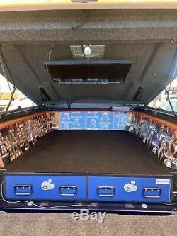 Truck Vault Bed Storage Gun Gear Hike Camp Toolbox Tactical Auto VanRV $4000 New