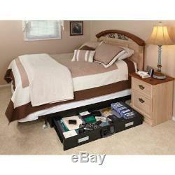 Under Bed Safe Gun Digital Lock Security Slide-Out Drawer Steel Valuable Storage