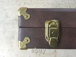 Vintage GUN-HO Rifle CASE Storage Box 2 Rifle Capacity New CONDITION