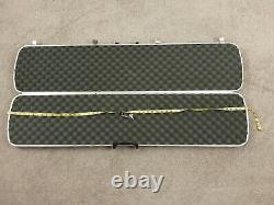 Vtg Doskocil Gun Guard Hard Case 52 Special Edition Rifle Shotgun Storage w Key