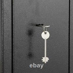 Zokop 51 Gun Rifle Safe Box 3 Rifle Shotgun Security Cabinet Locker Storage Box